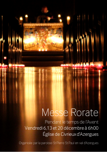 Messe RORATE 2019