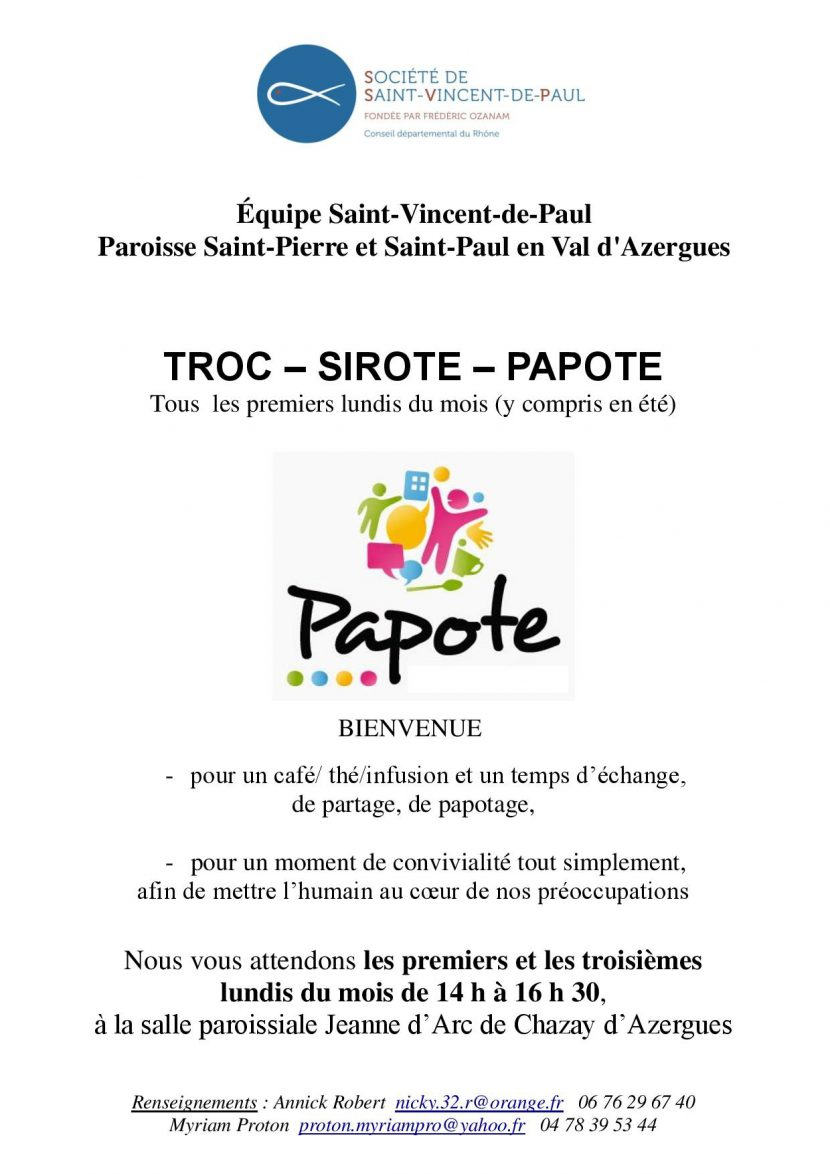 Invitation TROCSIROTEPAPOTE  24 février 2020